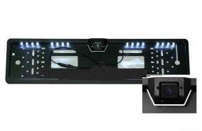 Рамка для номера с подсветкой и камерой заднего вида (S308I)